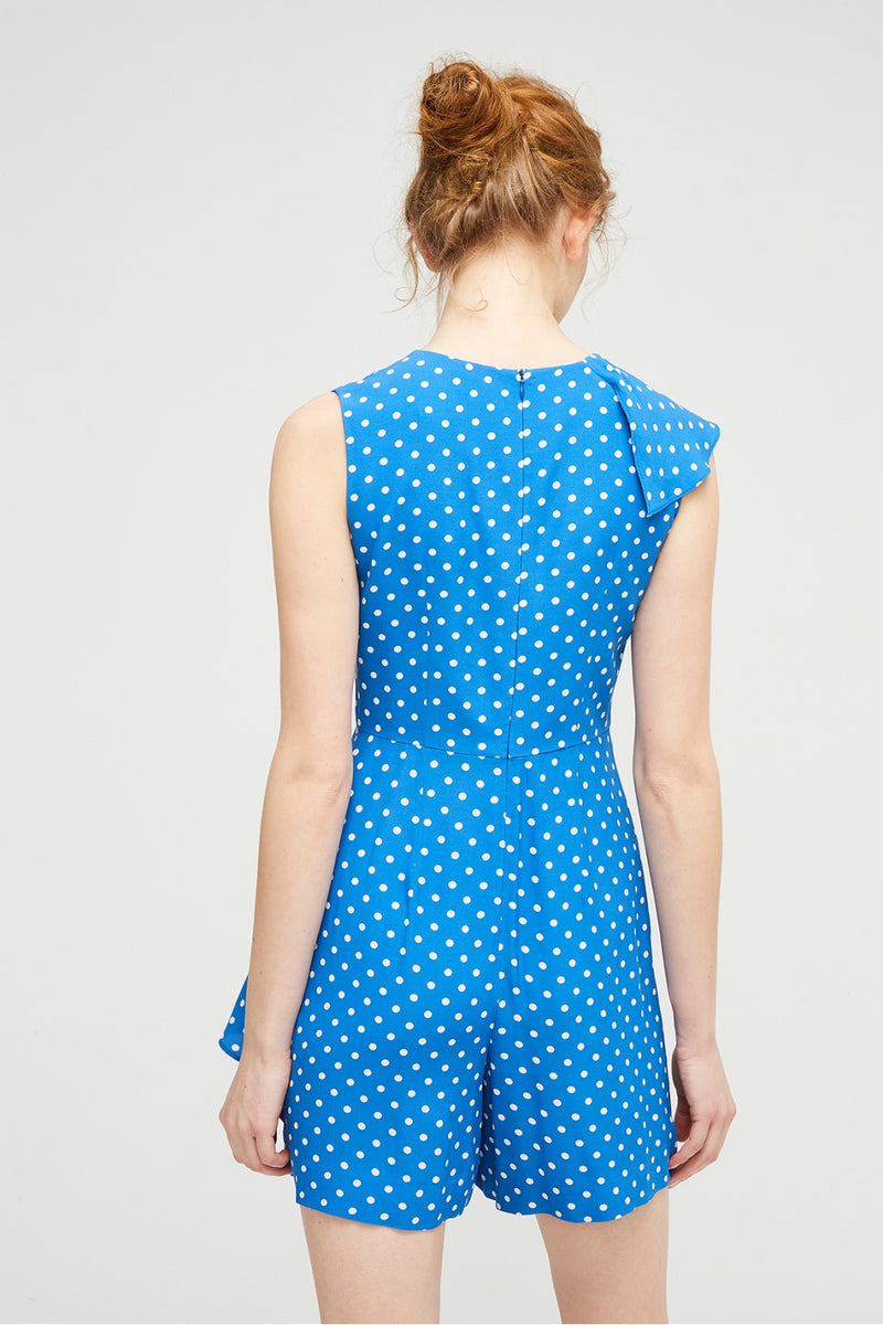 Exquise Polka Dot Jumpsuit