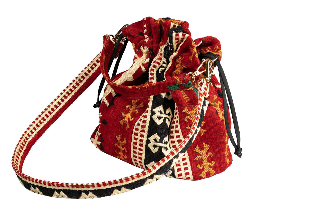 Roe Ethnic Rug Potli Bag