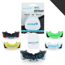Load image into Gallery viewer, Mapley Mouth Guard Gum Shield (Black)