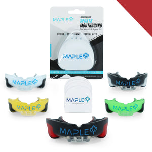 Mapley Mouth Guard Gum Shield (Red)