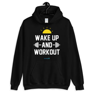 WAKE UP AND WORKOUT | Sports Motivational Hoodie
