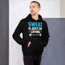 Load image into Gallery viewer, SWEAT IS JUST FAT CRYING | Sports Motivational Hoodie