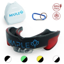 Load image into Gallery viewer, Mapley Mouth Guard Gum Shield (Red)