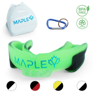 Mapley Mouth Guard Gum Shield (Green)