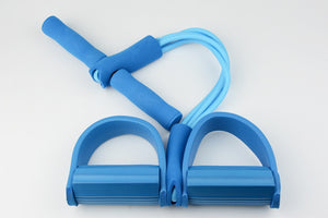 Elastic Pull Rope - Pedal Resistance Band | Designed For Abdomen, Waist, Arm & Yoga Stretching