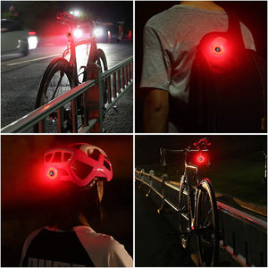Premium Mini Bicycle Tail Rear Light | USB Rechargeable & Waterproof