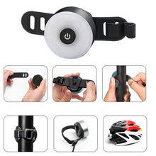 Load image into Gallery viewer, Premium Mini Bicycle Tail Rear Light | USB Rechargeable & Waterproof