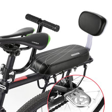 Load image into Gallery viewer, Premium Bike Back Seat Cushion With Accessories | PU Leather & Waterproof | Universal Fit