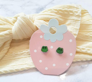 Frog Kids Earrings