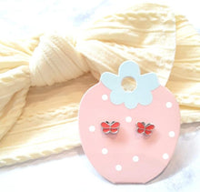 Load image into Gallery viewer, Butterfly Kids Earrings