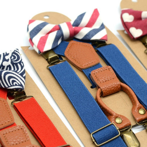 Boys Bowtie & Braces Set - SALE