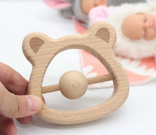 Load image into Gallery viewer, Beechwood Bear Rattle - SALE