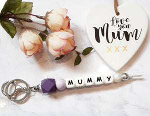 Personalised Keyrings - MUMMY