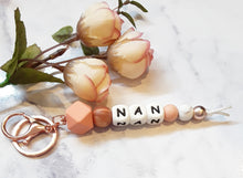 Load image into Gallery viewer, Personalised Keyrings - NAN