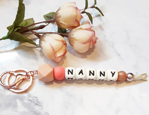 Personalised Keyrings - NANNY