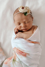 Load image into Gallery viewer, Snuggle Hunny | Sorbet Bloom Organic Muslin Wrap