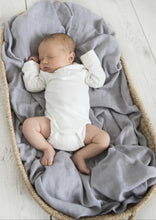 Load image into Gallery viewer, Snuggle Hunny | Storm Organic Muslin Wrap