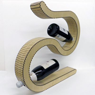Bottle Holder made with Laser Jump Start's Quad Template Package