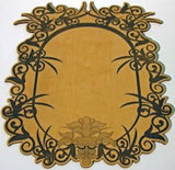Artistic Frame made with Laser Jump Start's Laser Friendly Filigree Font & Frames
