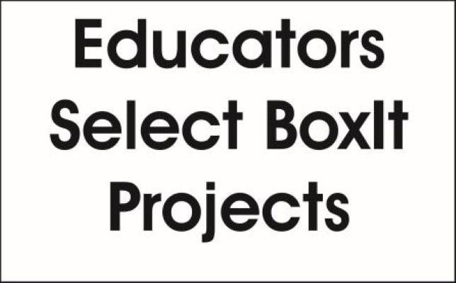 Laser Jump Start's Educator Select BoxIt Projects