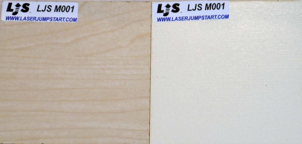 Light Maple and Solid Almond sides of Laser Jump Start's LJSM001