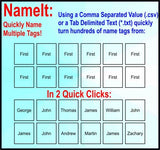 NameIt Suite Extra Seat (Download Link)