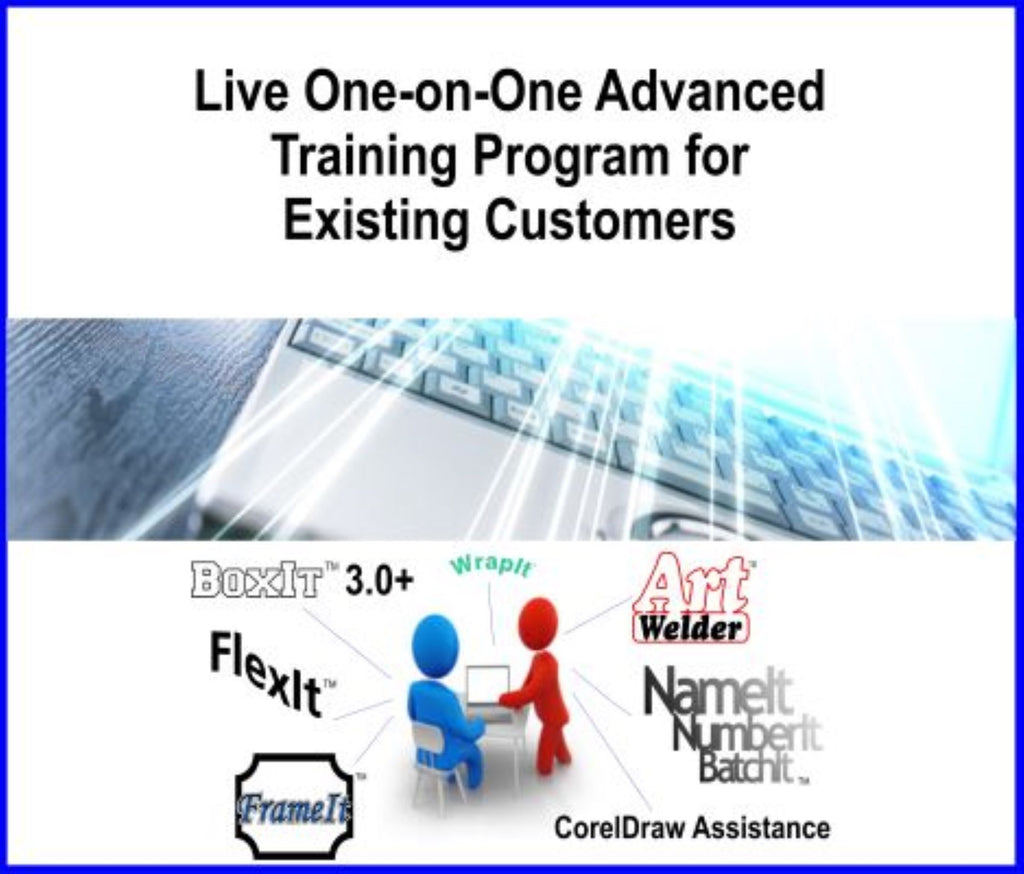 Receive a Live One-on-One Advanced Training Program by one of Laser Jump Start's employees