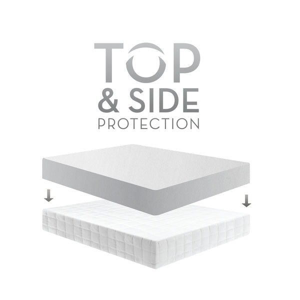5 Sided Smooth Mattress Protector 3
