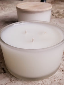 Large 3 Wick Candle