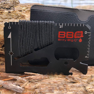 14 in 1 Stainless Steel Survival Card Tools - Bitty Big Q