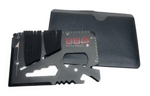 14 in 1 Stainless Steel Survival Card Tools