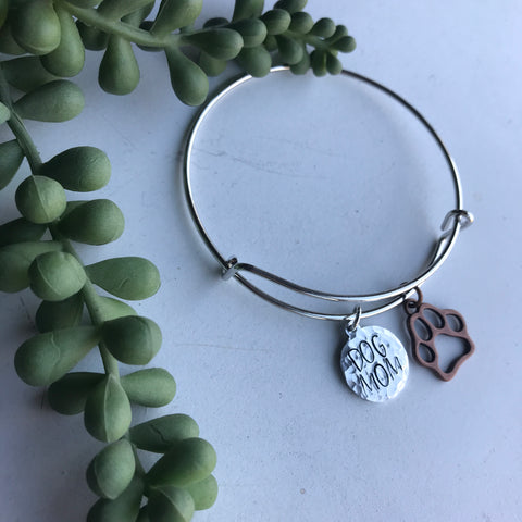 Dog Mom Bangle