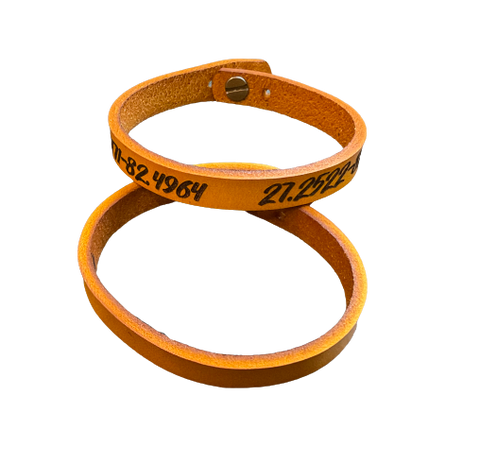 Unisex Leather Wrap