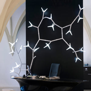 Quasar Sparks modular lighting system (wall/ceiling mounted)