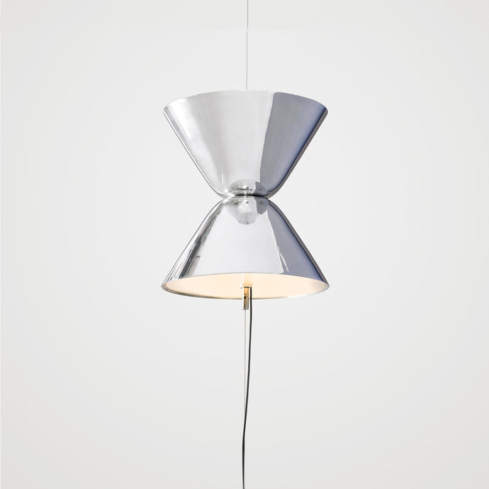 Aureole suspended floor lamp