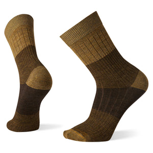 Men's Rib Color Block Crew Socks