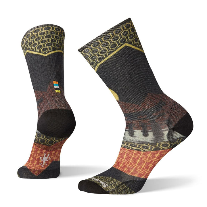 Men's Curated Torii Gate Crew Socks
