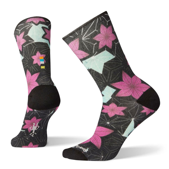Women's Curated Kimono Flower Crew Socks