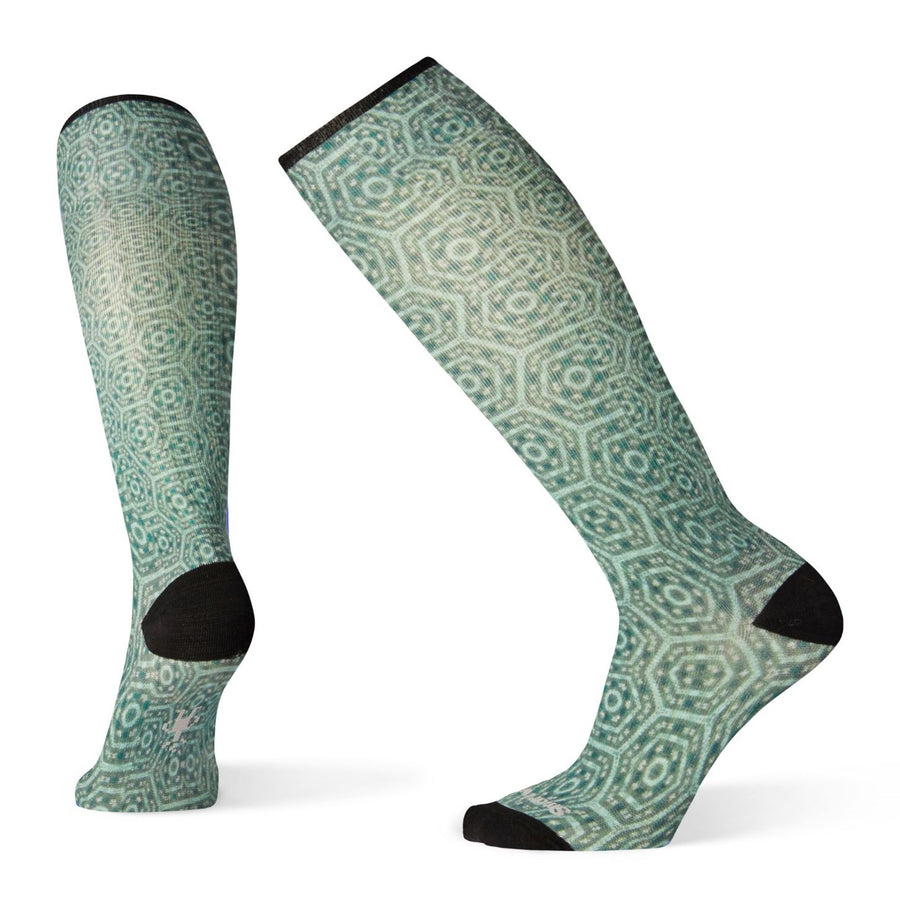 Women's Compression Hexa Jet Print OTC Socks