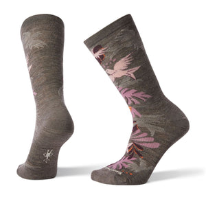 Women's Paraket Palm Crew Socks