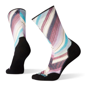 Women's PhD Outdoor Light Print Crew Socks