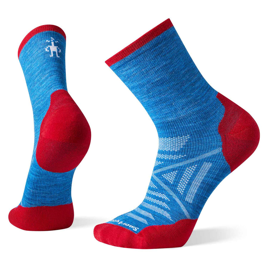 Mens PhD Run Light Elite Mid Crew Socks