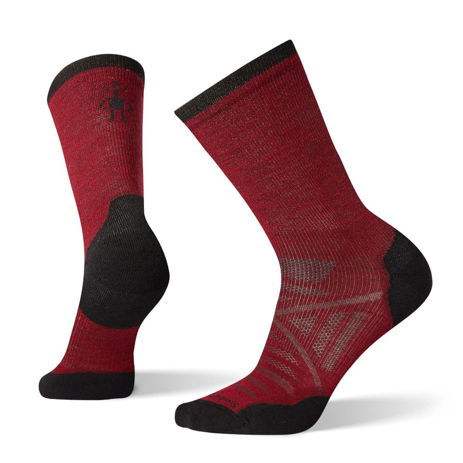 Men's PhD Run Light Elite Mid Crew Socks