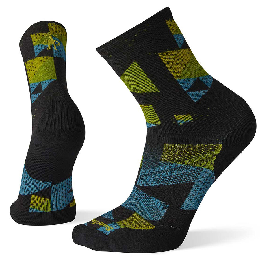 Men's PhD Run Light Elite Print Crew Socks