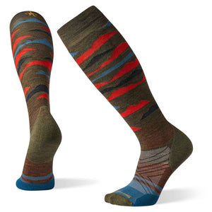 Mens PhD Ski Light Elite Pattern Socks