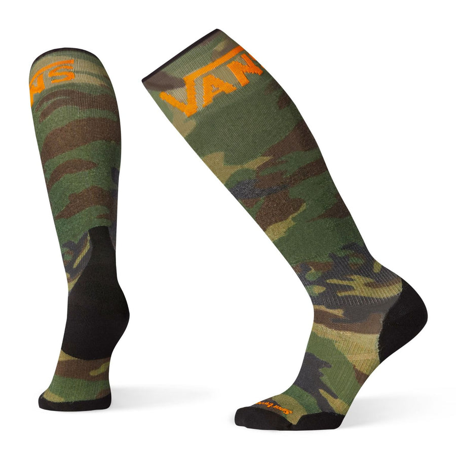 PhD Slopestyle Light Elite VANS Woodland Print Socks