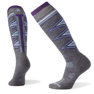 Women's PhD Ski Light Pattern Socks