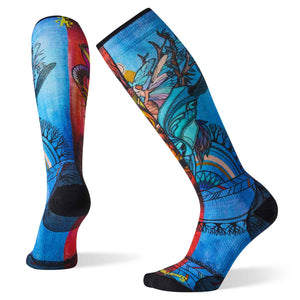 Women's PhD Ski Ultra Light Print Socks