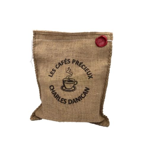 Coffret Cafés d'Exception en sac de jute