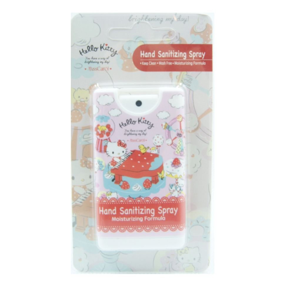 Disney & Sanrio Hand Sanitizer Spray 潔淨免洗噴霧 75%酒精搓手液 12ml